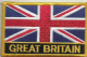 Great Britain Union Jack Embroidered Flag Patch, style 09.